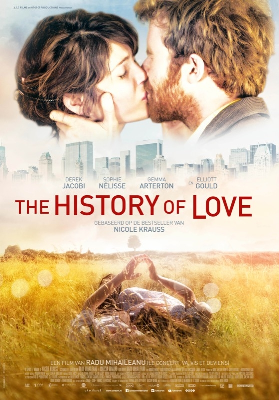 The History of Love poster, © 2016 Cinéart