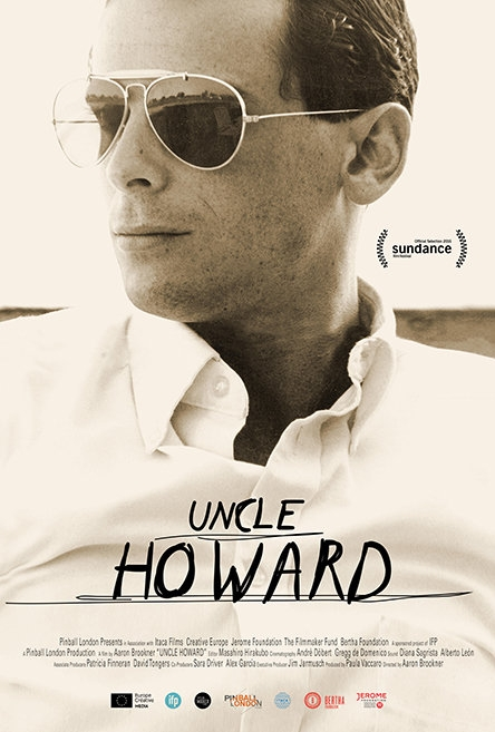 Uncle Howard poster, copyright in handen van productiestudio en/of distributeur