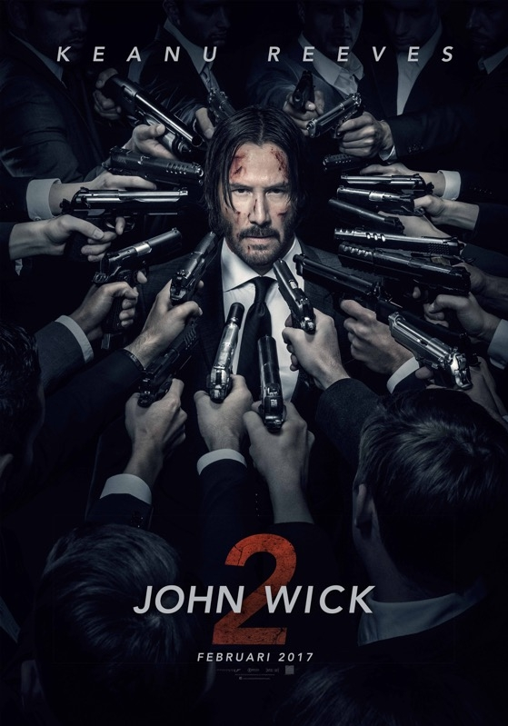 John Wick: Chapter Two poster, © 2017 Independent Films