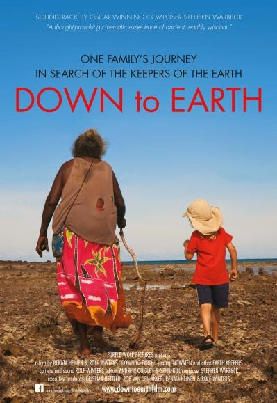 Down to Earth poster, copyright in handen van productiestudio en/of distributeur