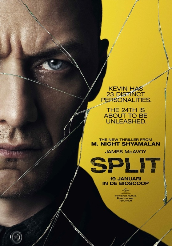Split poster, © 2017 Universal Pictures International