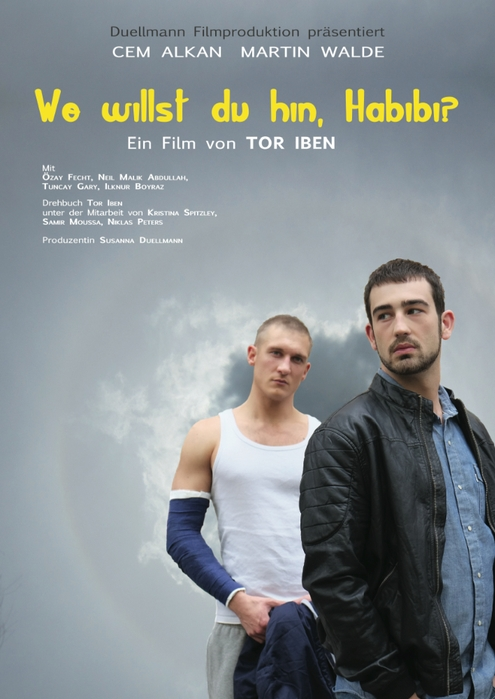 Wo willst du hin, Habibi? poster, copyright in handen van productiestudio en/of distributeur
