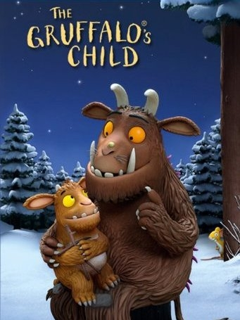 The Gruffalo's Child poster, copyright in handen van productiestudio en/of distributeur