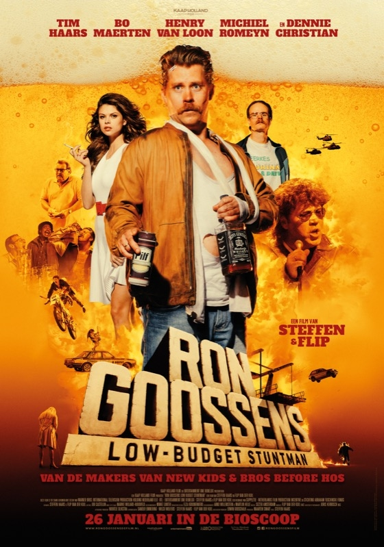 Ron Goossens, Low Budget Stuntman poster, © 2017 Entertainment One Benelux