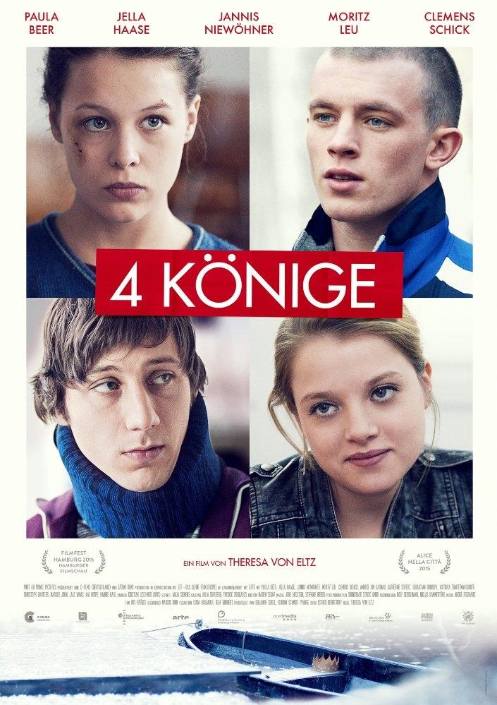 4 Könige poster, copyright in handen van productiestudio en/of distributeur