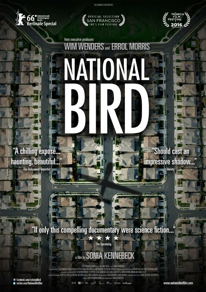 National Bird poster, copyright in handen van productiestudio en/of distributeur