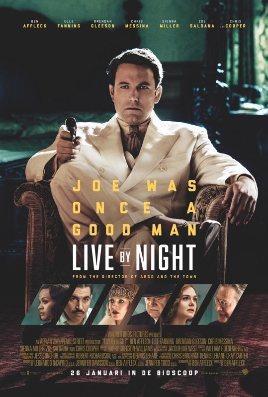 Live by Night poster, © 2016 Warner Bros.