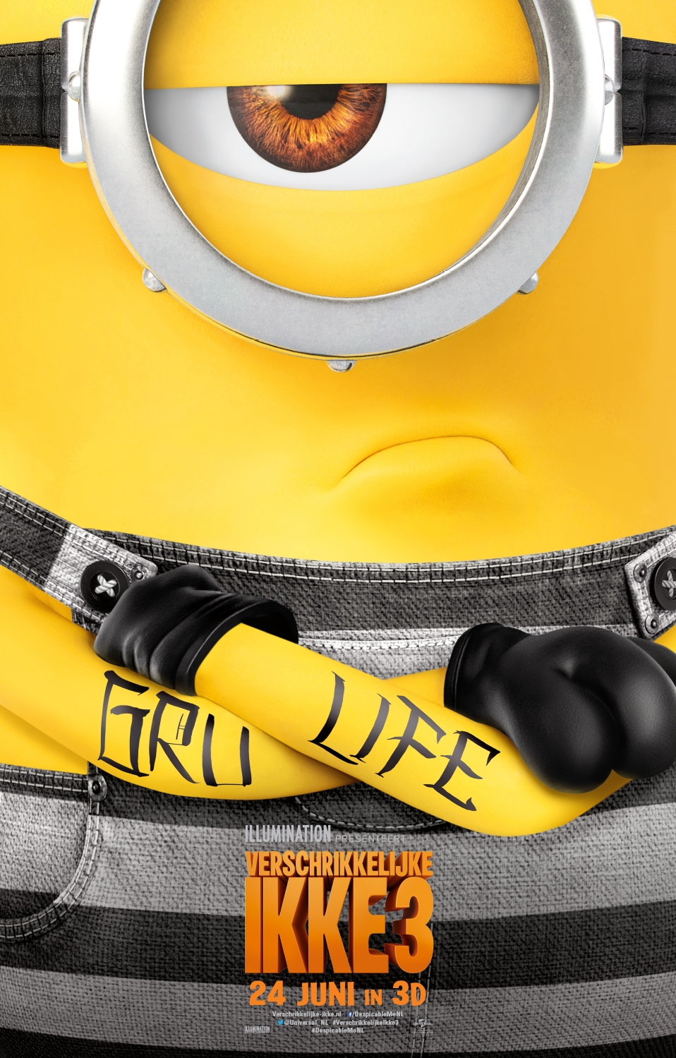 Despicable Me 3 poster, © 2017 Universal Pictures International