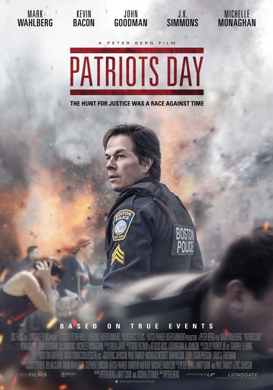 Patriots Day poster, © 2016 Independent Films