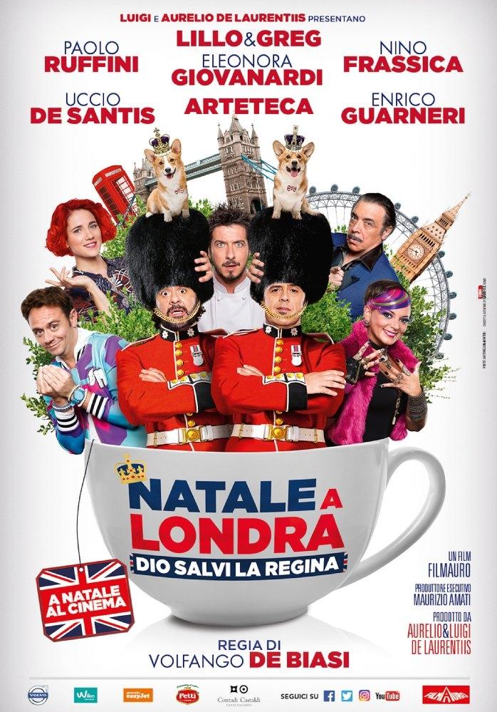 Natale a Londra: Dio Salvi la Regina poster, copyright in handen van productiestudio en/of distributeur