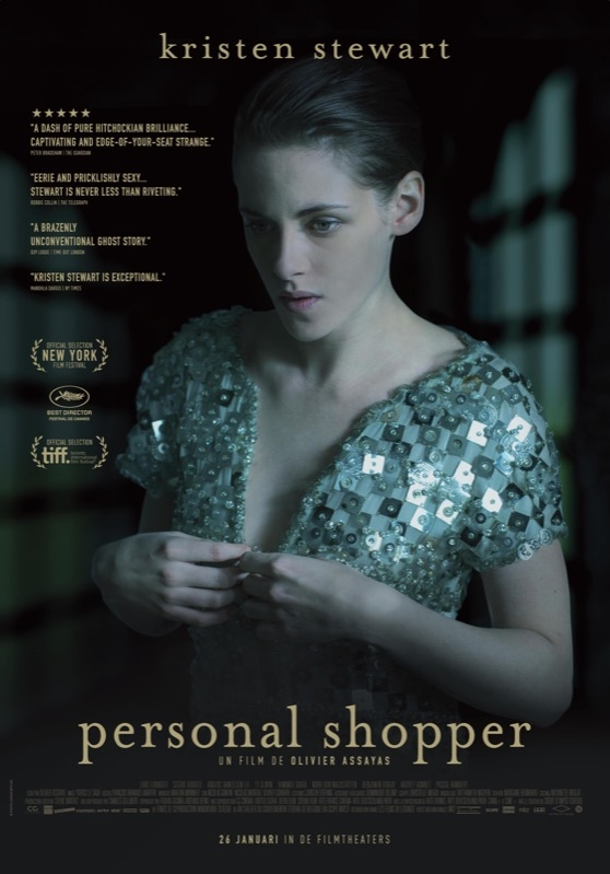 Personal Shopper poster, © 2016 The Searchers