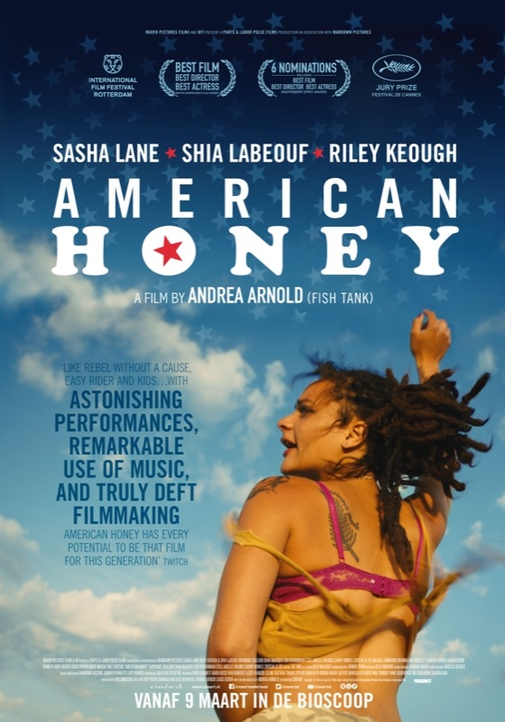 American Honey poster, © 2016 Cinéart