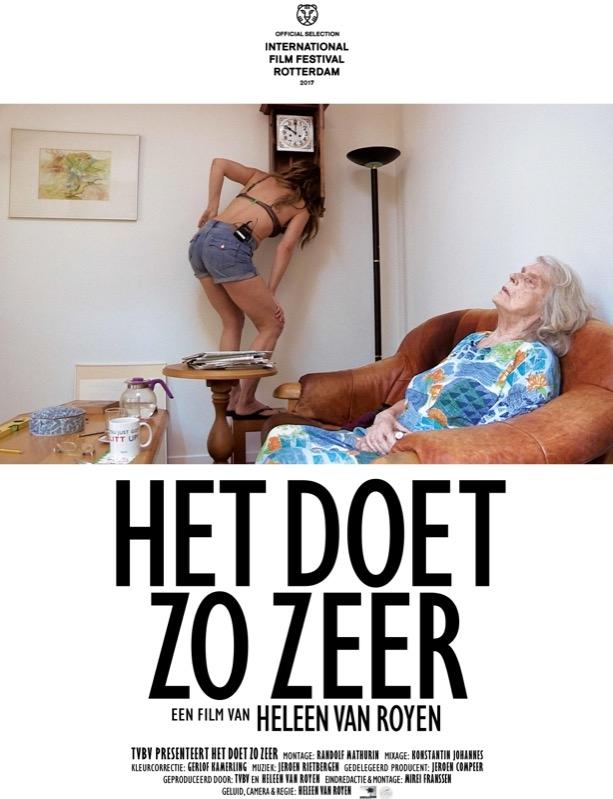 Het Doet Zo Zeer poster, copyright in handen van productiestudio en/of distributeur