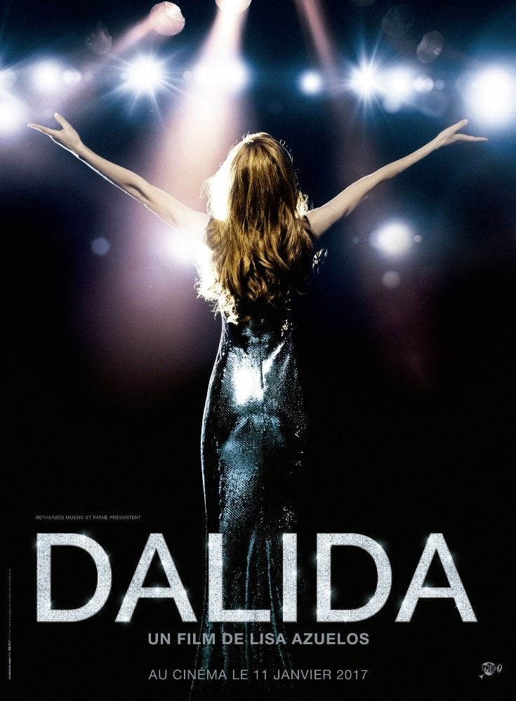 Dalida poster, copyright in handen van productiestudio en/of distributeur