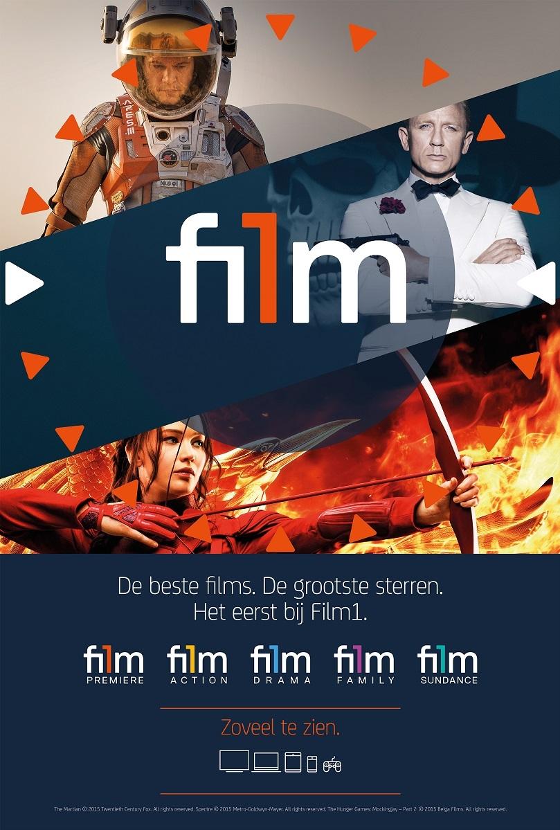 Film1 poster, copyright in handen van productiestudio en/of distributeur