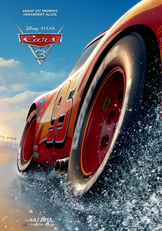 Cars 3 poster, © 2017 Walt Disney Pictures