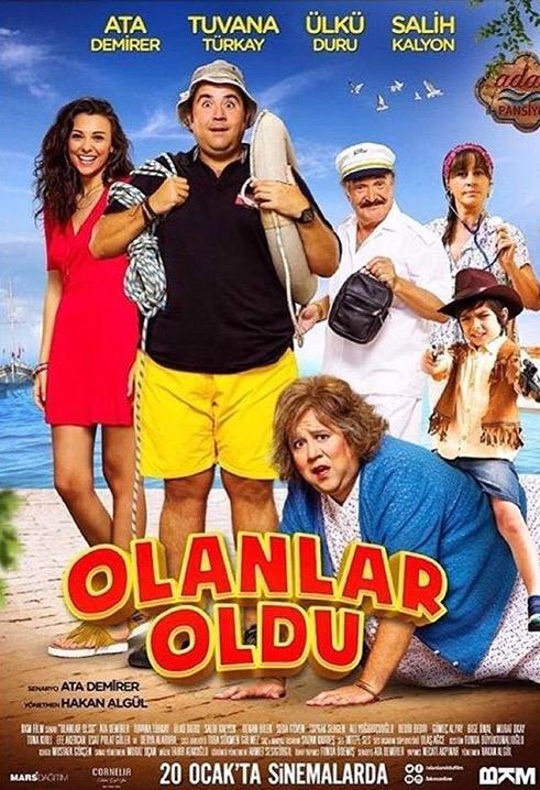 Olanlar Oldu poster, copyright in handen van productiestudio en/of distributeur