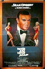 Poster 'Never Say Never Again' (c) 1983 Warner Bros.
