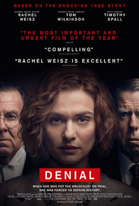 Denial poster, © 2016 Entertainment One Benelux