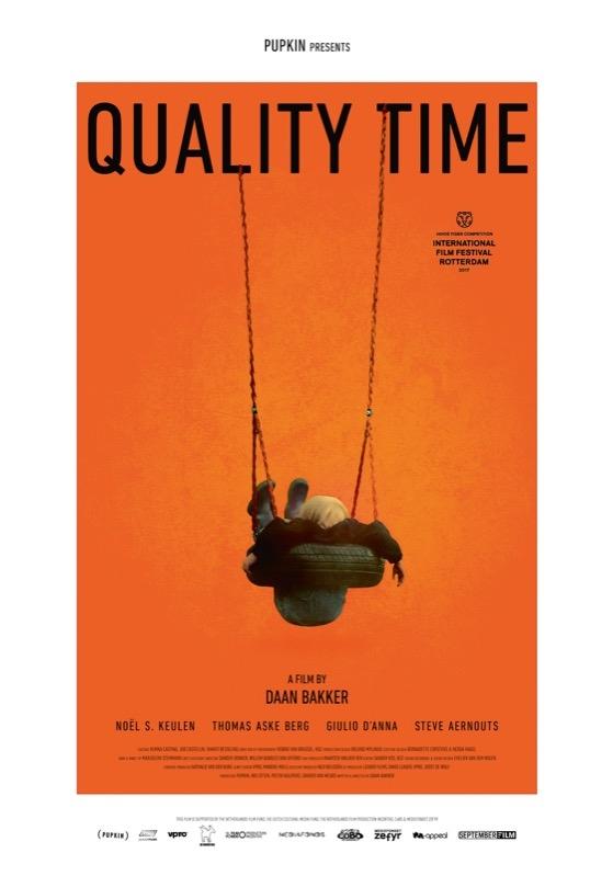 Quality Time poster, © 2017 September