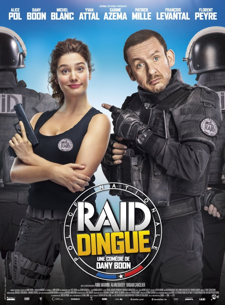 Raid dingue poster, copyright in handen van productiestudio en/of distributeur