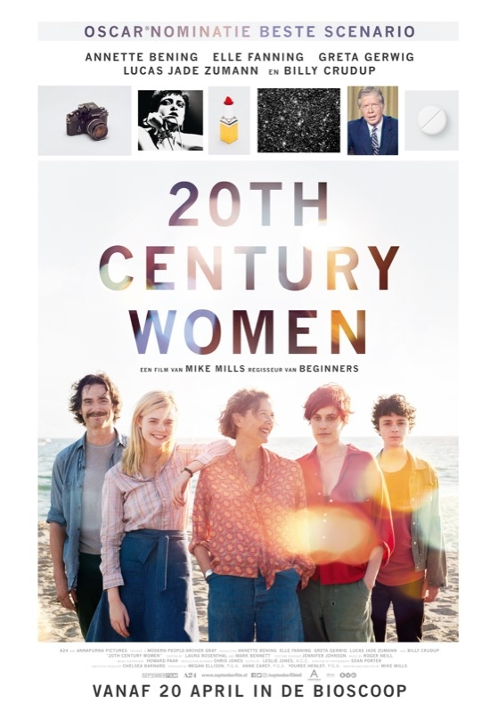 20th Century Women poster, © 2016 September