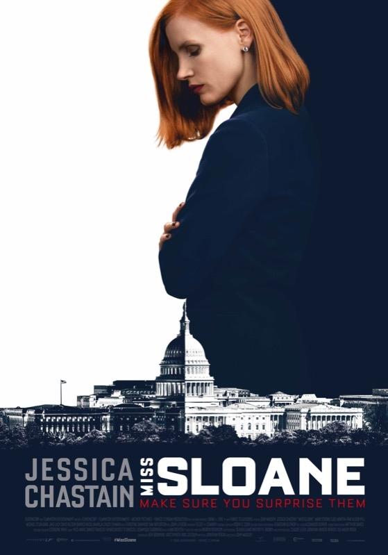 Miss Sloane poster, © 2016 Independent Films