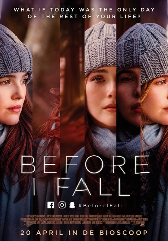 Before I Fall poster, © 2017 Entertainment One Benelux