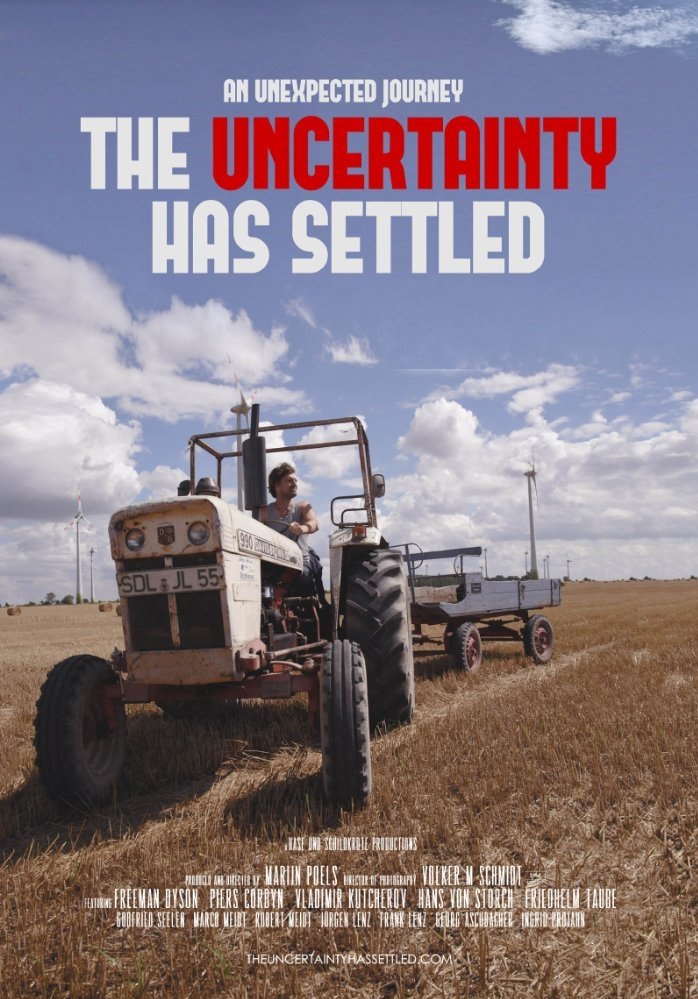 The Uncertainty Has Settled poster, copyright in handen van productiestudio en/of distributeur
