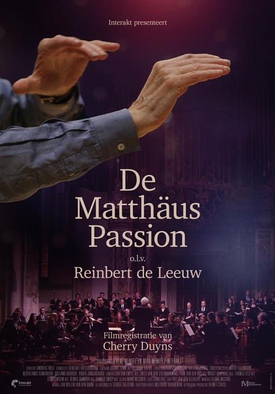 De Matthäus Passion - De complete uitvoering van Reinbert de Leeuw poster, copyright in handen van productiestudio en/of distributeur