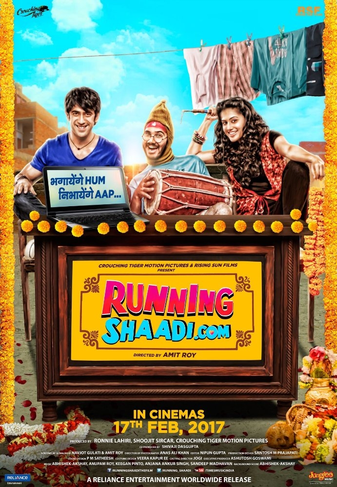 Runningshaadi.com poster, copyright in handen van productiestudio en/of distributeur