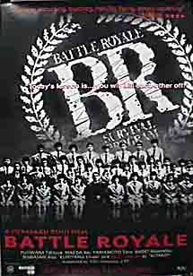 poster 'Battle Royale' © 2002 Toei Co. Ltd.