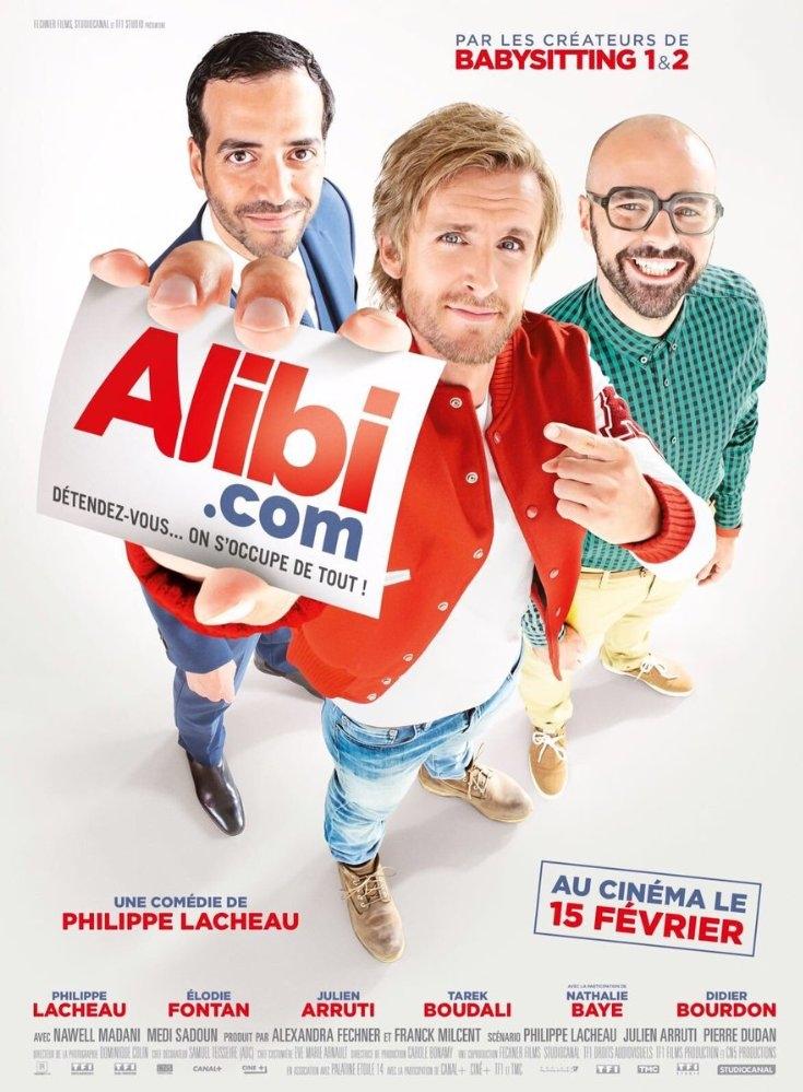 Alibi.com poster, copyright in handen van productiestudio en/of distributeur