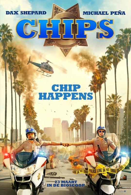 CHiPs poster, © 2017 Warner Bros.