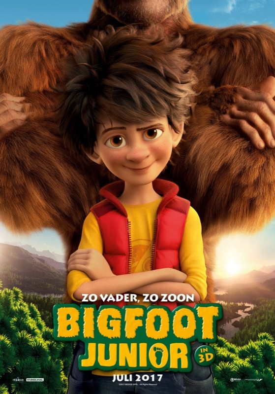 The Son of Bigfoot poster, © 2017 Independent Films