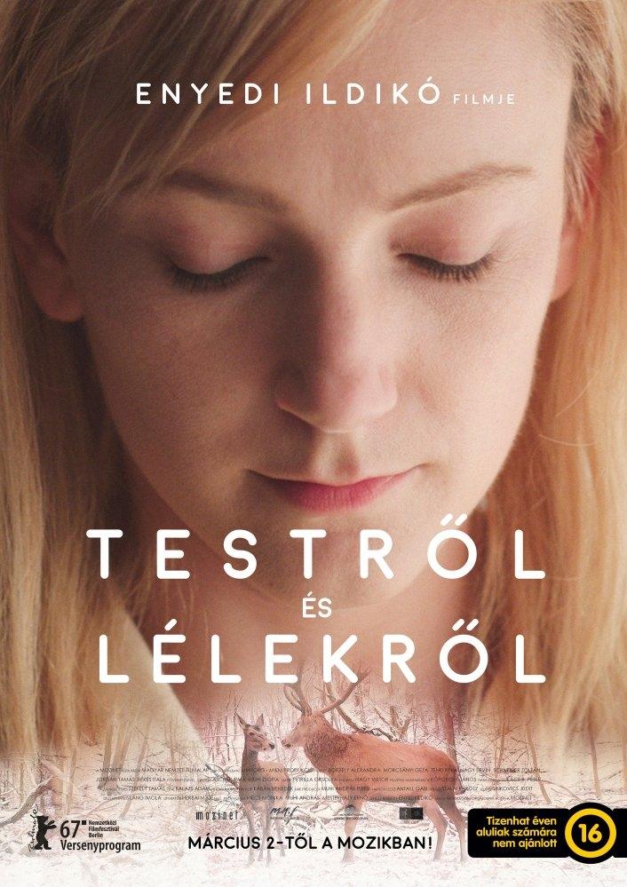 A Teströl és Lélekröl poster, copyright in handen van productiestudio en/of distributeur