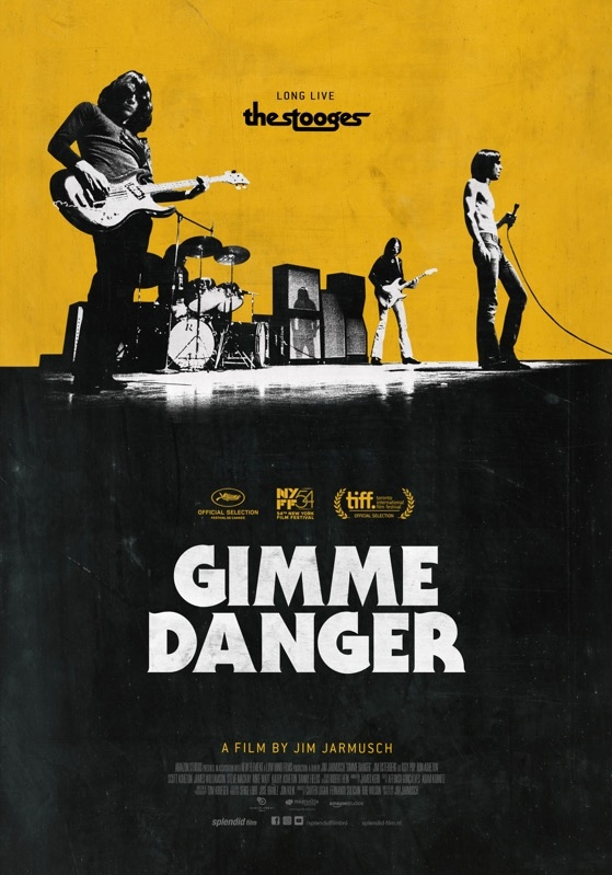 Gimme Danger poster, © 2016 Splendid Film