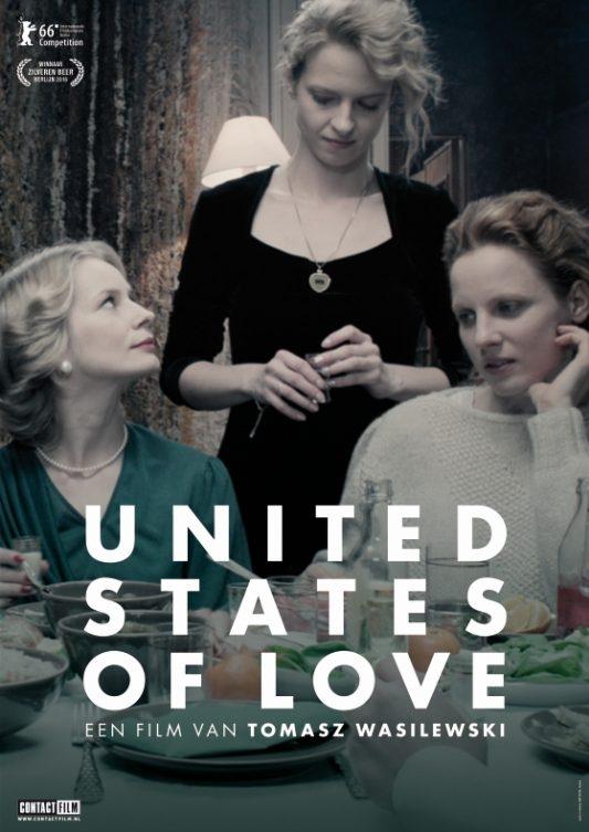 Zjednoczone stany milosci poster, © 2016 Contact Film