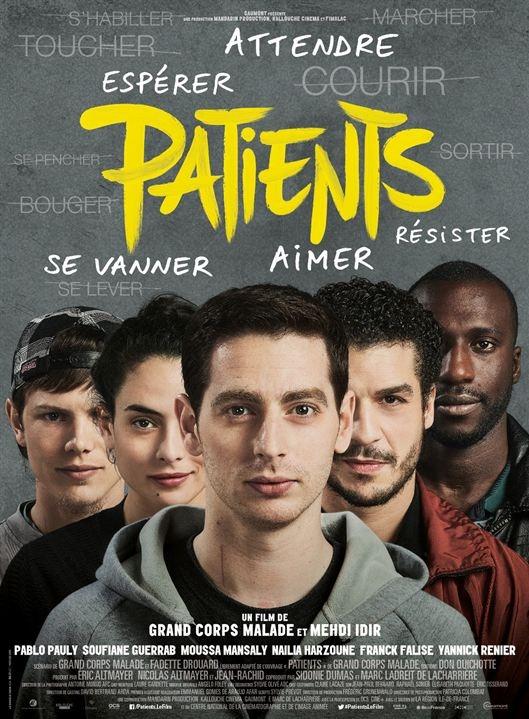 Patients poster, copyright in handen van productiestudio en/of distributeur