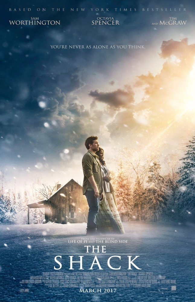 The Shack poster, copyright in handen van productiestudio en/of distributeur