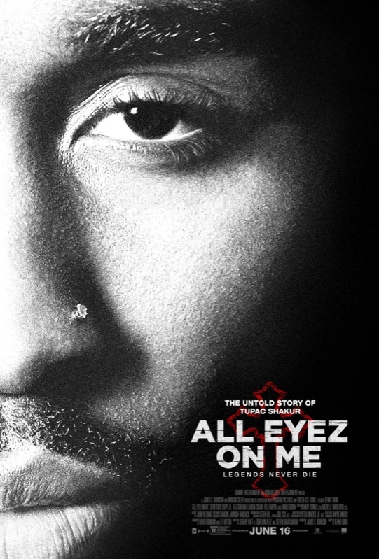 All Eyez on Me poster, © 2017 Dutch FilmWorks