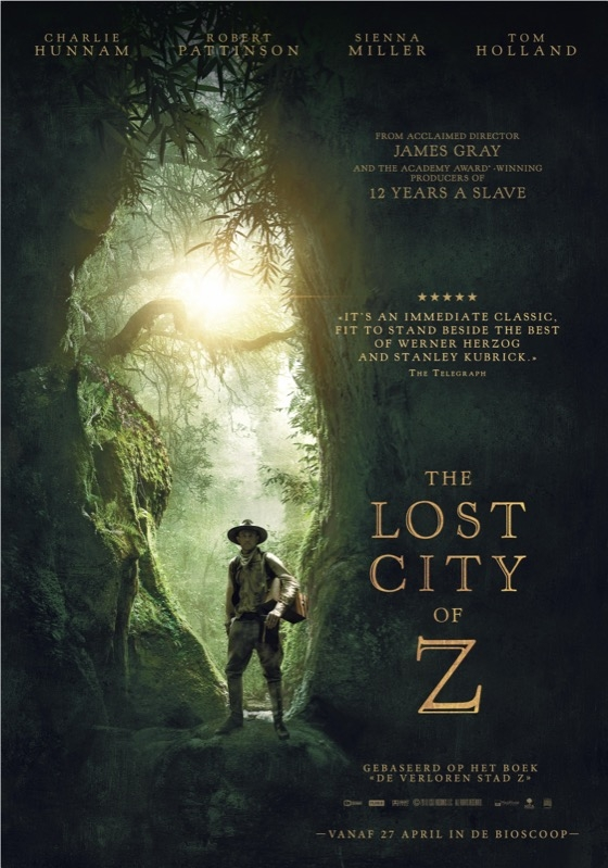 The Lost City of Z poster, © 2016 The Searchers