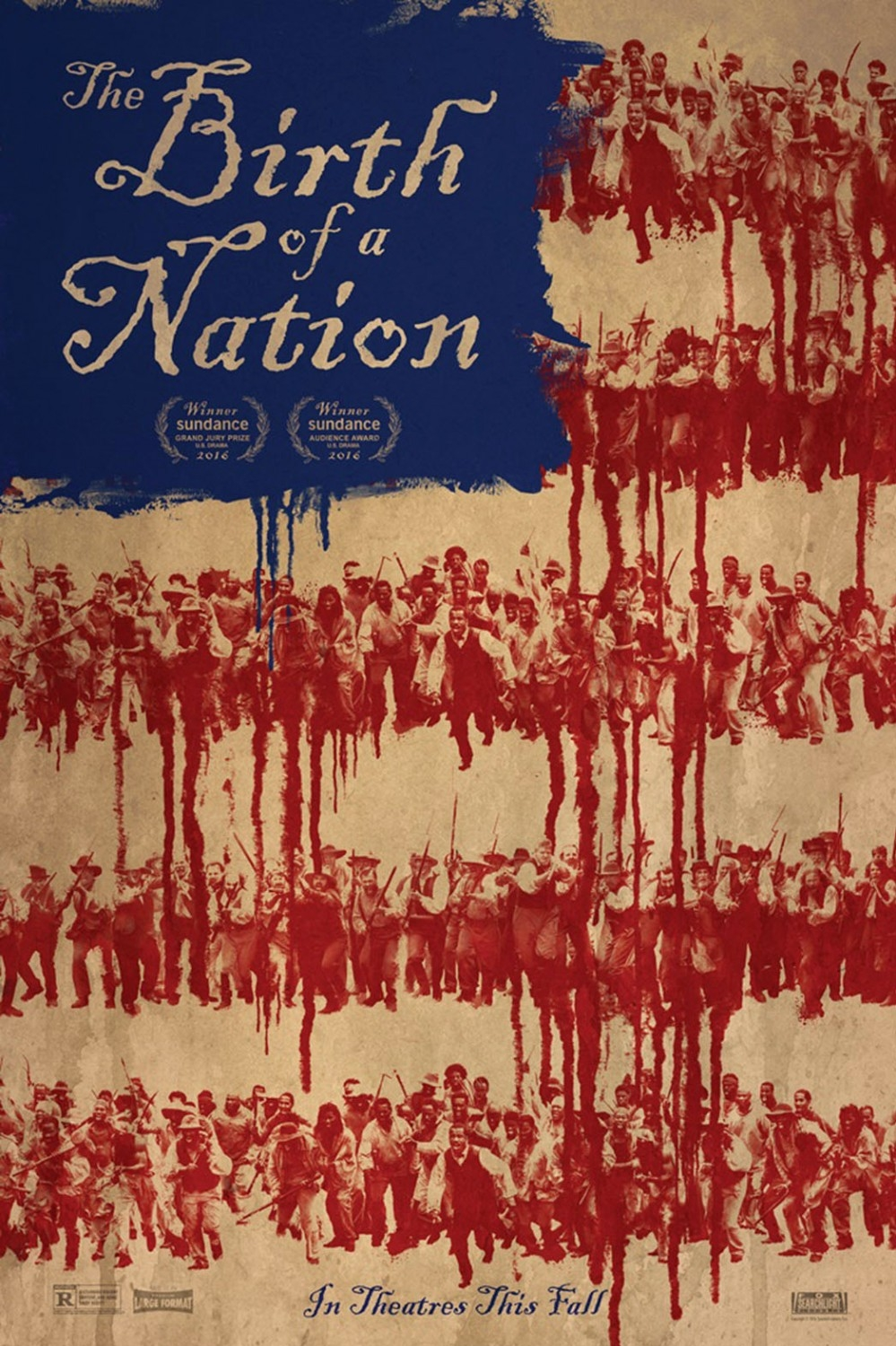 The Birth of a Nation poster, © 2016 Park Circus
