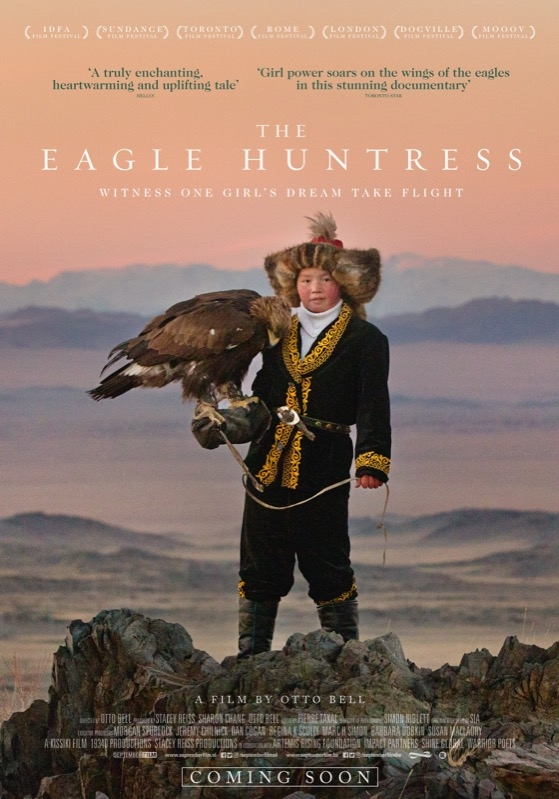 The Eagle Huntress poster, © 2016 September