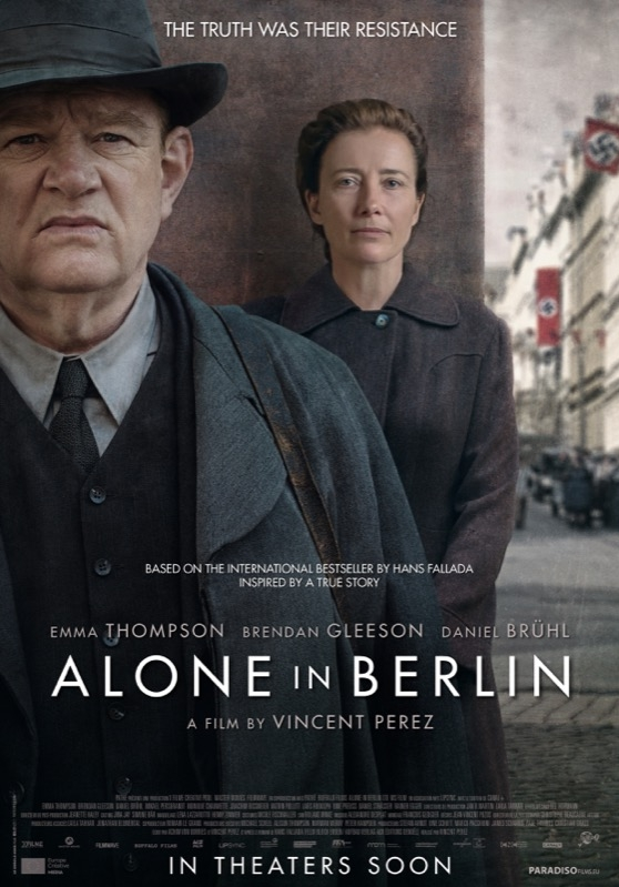 Alone in Berlin poster, © 2016 Paradiso