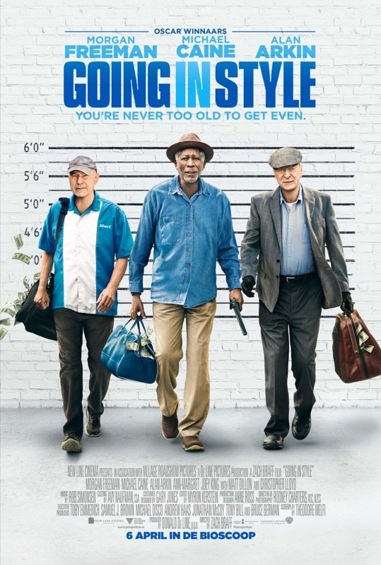 Going in Style poster, © 2017 Warner Bros.