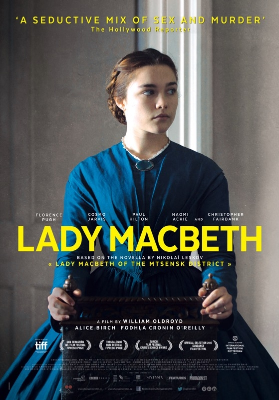 Lady Macbeth poster, © 2016 Cherry Pickers