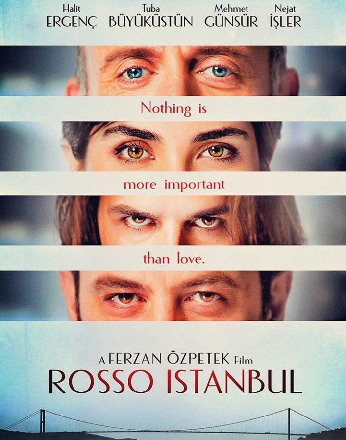 Istanbul Kirmizisi poster, copyright in handen van productiestudio en/of distributeur