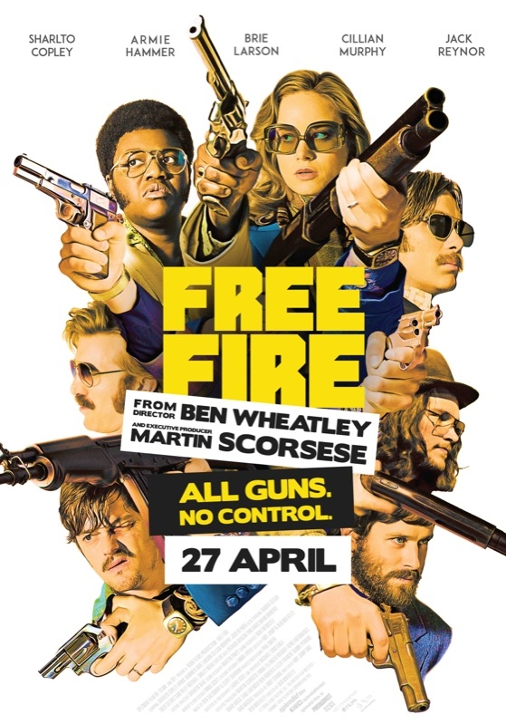 Free Fire poster, © 2016 Splendid Film