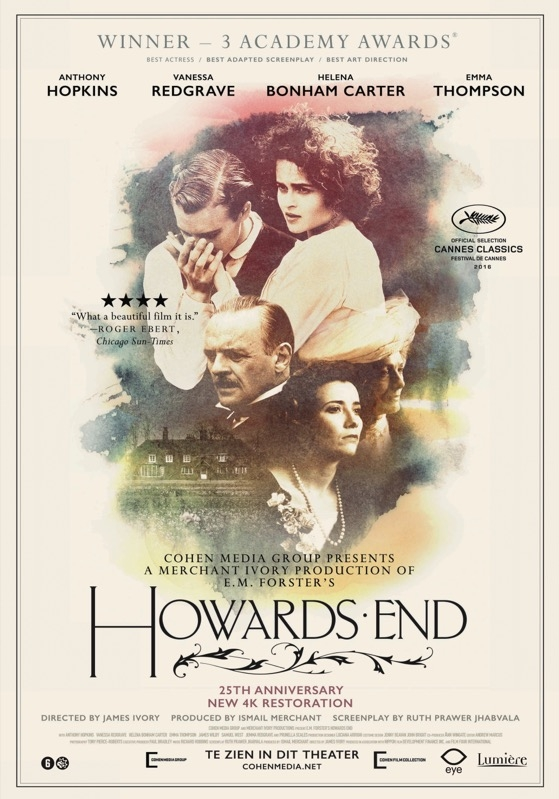 Howards End poster, © 1992 Eye Film Instituut